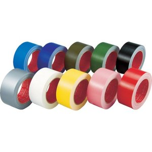 スリオン カラー布粘着テープ50mm レッド 339000-RD-00-50X25