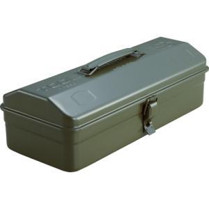 TRUSCO 山型工具箱 373X164X124 OD色 Y-350-OD≪代引不可≫