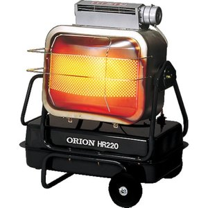 オリオン ブライトヒーター HR220A-60HZ≪お取寄商品≫≪代引不可≫|工具の楽市