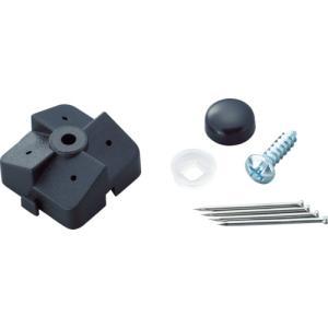 光 パンチングボード 石膏ボード用 止め具セット 黒 4組入 PBST-1