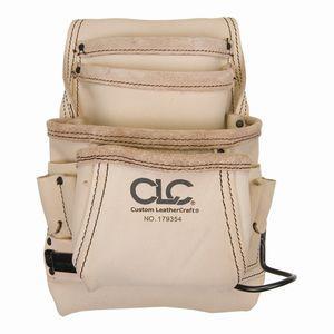 シーエルシー CLC Custom Leathe CLC 179354 腰袋 皮トップグレイン10ポケット金 品番:V179358|kouguya