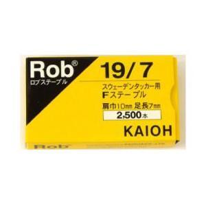 スウェーデンタッカー用 Robステープル 19/7 2500本 小箱1箱|kouguya