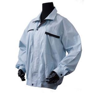 KB-MF-SET-LL 空調ウェア 神風 miniファンセット LLサイズ 綿100%長袖ブルゾン|kouguya