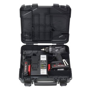 Panasonic(パナソニック) 充電ドリルドライバー 18V 3.0Ah ブラック EZ74A2PN2G-B|kouguya|02