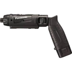 【ベッセル段付ビット+2x100mm2本付】パナソニック(Panasonic) 充電スティック ドリルドライバー 7.2V 黒 電池2個付 EZ7421LA2S-B|kouguya|02