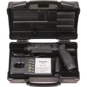 【ベッセル段付ビット+2x100mm2本付】パナソニック(Panasonic) 充電スティック ドリルドライバー 7.2V 黒 電池2個付 EZ7421LA2S-B|kouguya|04