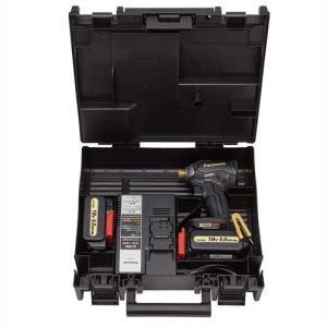 パナソニック インパクトドライバー18V高容量5.0Ah電池パックセット ブラック&ゴールド限定色 EZ76A1LJ2GT1 限定ブラック&ゴールド|kouguya|02