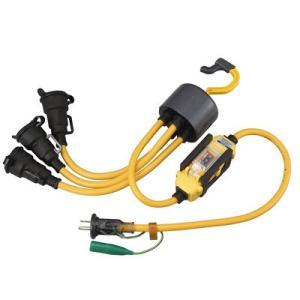 ハタヤリミテッド ブランパス延長コード 漏電遮断器付 BTX-013KC|kouguya