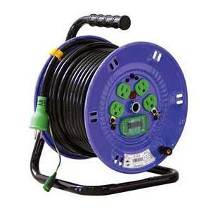 日動工業 漏電しゃ断器付 アース付 電工ドラム NP-EB34 kouguya