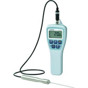 佐藤 防水型食品用温度計SKー270WP(標準センサ付)(8078−00)SK-270WP kouguya