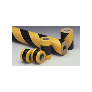 ニットートラテープ(貼り付け用・黄黒の斜め) 45mm|kouguya