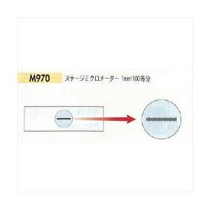 【ポイント15倍】 カートン光学 (Carton) CZS/CZN共用オプション・ステージミクロメーター(1mm100等分) M970|kouguyasan