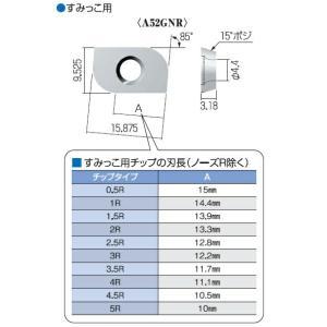 【ポイント15倍】 富士元 すみっこ専用チップ (12個入り) A52GNR-0.5R NK1010 《フェイス・ショルダーシリーズ》|kouguyasan