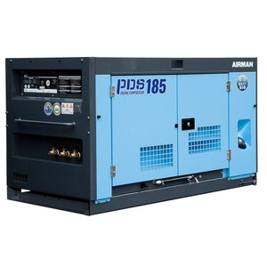 【ポイント15倍】 【直送品】 北越工業 (AIRMAN) エンジンコンプレッサ PDS185S-5C5 【大型】|kouguyasan