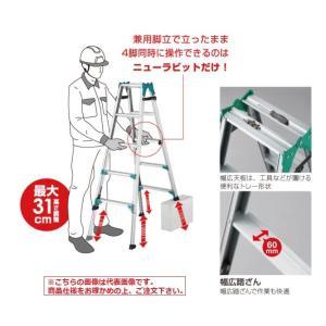 【直送品】 長谷川工業 ハセガワ はしご兼用脚立 RYH-18 (17427)|kouguyasan