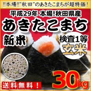 ★送料無料★30kg最終価格★平成29年 秋田県産 あきたこ...