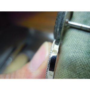 プラチナ 結婚指輪【本物の鍛造】2本の指輪を合わせると 可愛いミル打ちのハートに|kouki|21