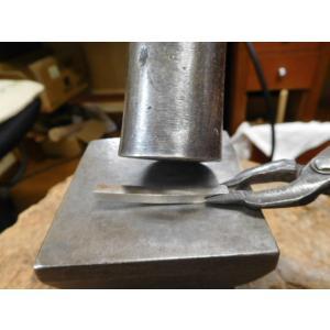 プラチナ 結婚指輪【本物の鍛造】打ち出した細かい槌目が美しい!ハンマリング技術を駆使した叩き出し|kouki|10