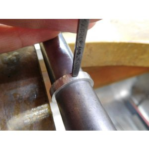 プラチナ 結婚指輪【本物の鍛造】叩き出し&打ち出した槌目にハートを彫る!2本の指輪を重ねるとハートに kouki 17