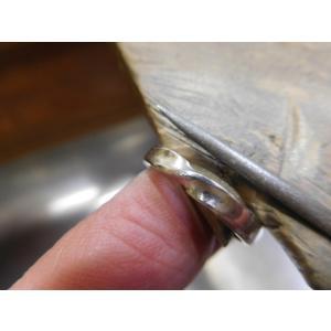 プラチナ 結婚指輪【本物の鍛造】艶消しのメビウスリングが美しい!メビウスのラインのみ光沢で魅了|kouki|20