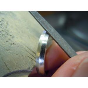 プラチナ 結婚指輪【本物の鍛造】ひねったツイストのラインが美しい曲線美!指輪の三角フォルムも可愛い!|kouki|19