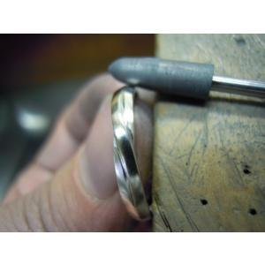 プラチナ 結婚指輪【本物の鍛造】ひねったツイストのラインが美しい曲線美!指輪の三角フォルムも可愛い!|kouki|21