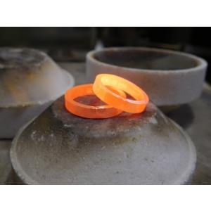 プラチナ 結婚指輪【本物の鍛造】シンプルでストレートの平打ち&ピカピカの鏡面仕上げが美しい! kouki 18
