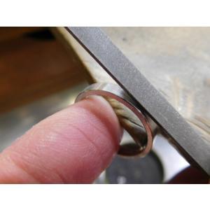 プラチナ 結婚指輪【本物の鍛造】シンプルでストレートの平打ち&ピカピカの鏡面仕上げが美しい! kouki 20
