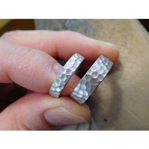 結婚指輪(鍛造&彫金)激レア限定製造【桜】結婚指輪&婚約指輪 最高級ダイヤ|kouki|02