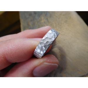 結婚指輪(鍛造&彫金)激レア限定製造【桜】結婚指輪&婚約指輪 最高級ダイヤ|kouki|05