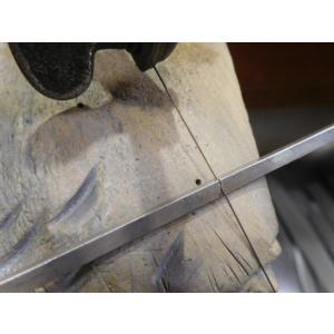 プラチナ 結婚指輪【本物の鍛造】打ち出した槌目模様を一段上げる&フチを光沢にして槌目を引き立たせる!|kouki|14
