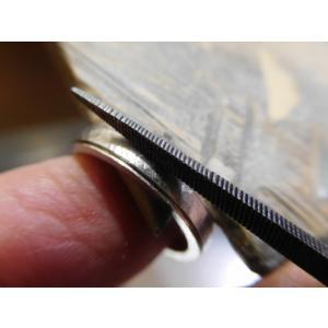 プラチナ 結婚指輪【本物の鍛造】打ち出した槌目模様を一段上げる&フチを光沢にして槌目を引き立たせる!|kouki|20