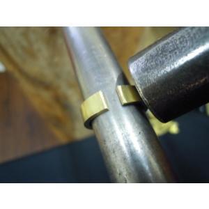 ゴールド 結婚指輪【本物の鍛造】幅広い平打ちリングに鎚目を打ちだす!日本伝統模様の槌目模様は和を感じられます! kouki 13