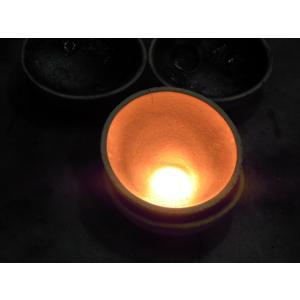 プラチナ結婚指輪(鍛造&彫金)艶消し 平打ちリングの縁に小さいミル打ち|kouki|06