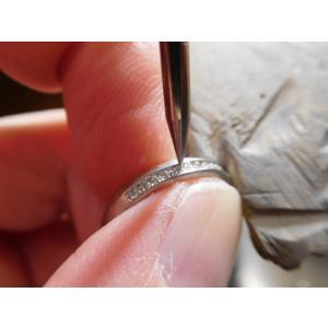 プラチナ 結婚指輪【本物の鍛造】LOVEが繋がるメビウス! 女性は美しいメビウスのエタニティ kouki 20