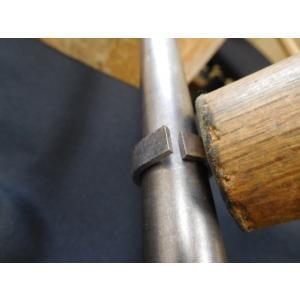 プラチナ 結婚指輪【本物の鍛造】幅広い平打ちに深い光沢の槌目が半端ない! 男性7ミリ幅 女性6ミリ幅|kouki|10