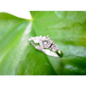 鍛造・手作りエンゲージリング 婚約指輪 ダイヤ0.3カラット 6本爪|kouki