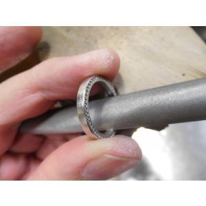 ドラマ「知らなくていいコト」に使われた指輪(1本販売)側面にミル打ち&ダイヤ入り|kouki|17