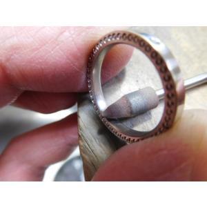 ドラマ「知らなくていいコト」に使われた指輪(1本販売)側面にミル打ち&ダイヤ入り|kouki|19