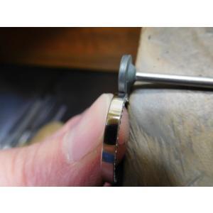 ドラマ「知らなくていいコト」に使われた指輪(1本販売)側面にミル打ち&ダイヤ入り|kouki|20