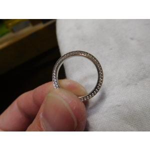 ドラマ「知らなくていいコト」に使われた指輪(1本販売)側面にミル打ち&ダイヤ入り|kouki|03
