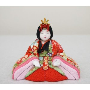 【大里彩作】 木目込み人形 はるか 円型十五人...の詳細画像4