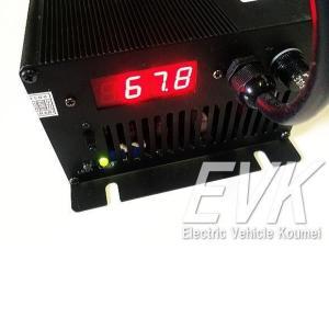 送料無料 充電器(Li-Fe)72V10A電圧/電流表示受注生産|koumei
