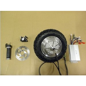 送料無料 6インチインホイールモーター48V500Wセット(コントローラー、スロットル付属)受注生産|koumei