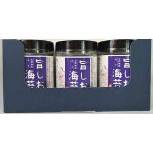 旨しお海苔 ごま油風味 卓上タイプ 3本詰【贈答用】|koumi-norishop