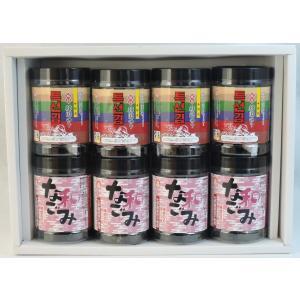 特選味付韓国のり&味付けのり なごみ 卓上タイプ 各4本 8本詰【贈答用】|koumi-norishop