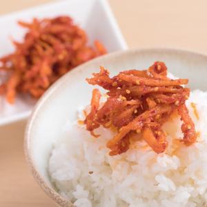 【送料無料】辛口スルメイカのさきいかキムチたっぷり180g 珍味 高麗食品が真剣にご飯のお供を作りま...