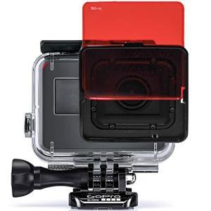 SANDMARC Aqua Filter: GoPro ウェアラブルカメラ用アクセサリ 青のウォータ...