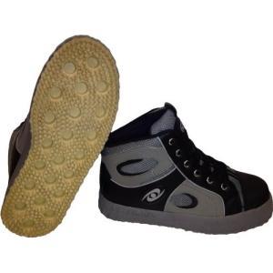 ブルームボールシューズ Broomball Shoes グリップイネーター (グレイ, US9)
