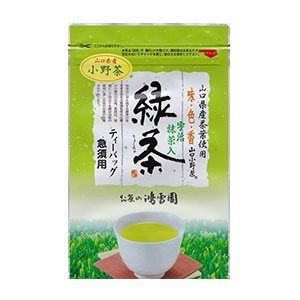 【煎茶】 山口小野緑茶TB|kousetuen